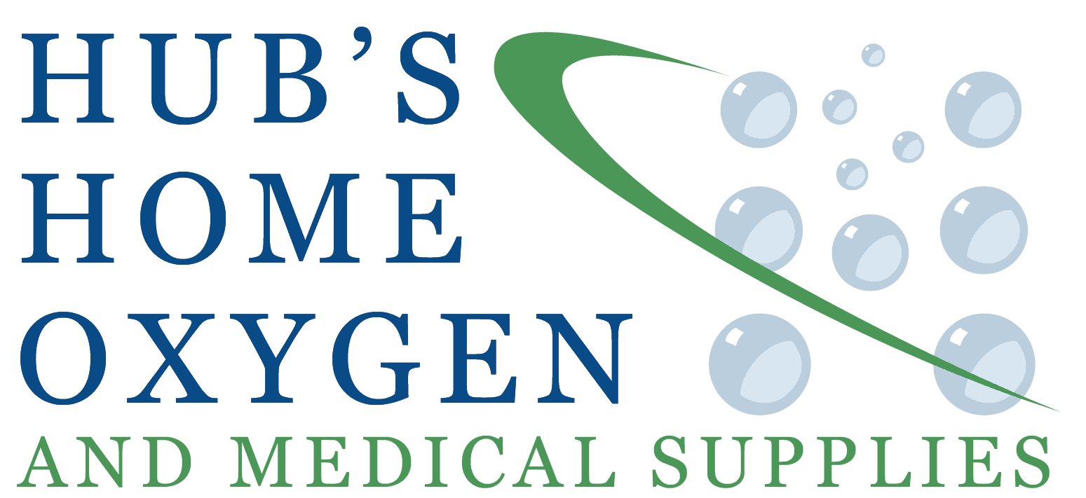 hub's home oxygen and medical supplies logo